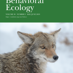 Behavioral Ecology Volume 30, Issue 3