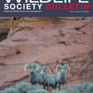 The Wildlife Society Bulletin Volume 44, Issue 2 June 2020
